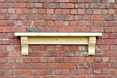Mantel Corbels by Chunky Solid Pine Mantle Pine Mantel Shelf With Corbels