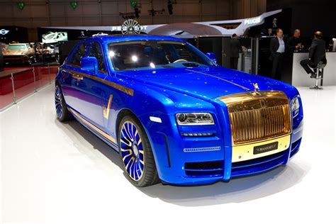 mansory cars new mansory rolls royce ghost skips on the gold flakes