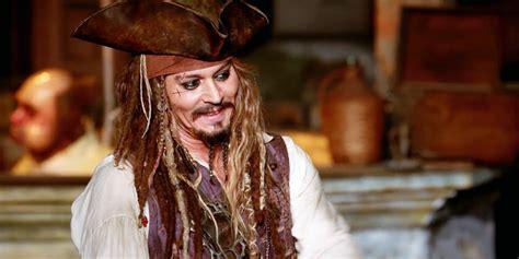 johnny depp showed disneylands pirates caribbean ride
