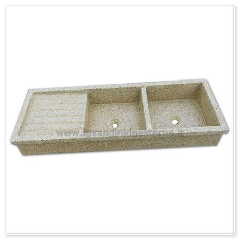 lavello graniglia lavello cucina acquaio in graniglia levigata 67 doppia vasca