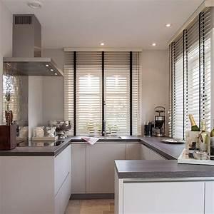 Küche Vorhänge Modern : die besten 25 k chenfenster vorh nge ideen auf pinterest k chenvorh nge bauernhaus stil ~ Watch28wear.com Haus und Dekorationen