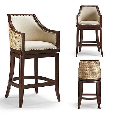 Seagrass Bar Stools Swivel Sheldon Swivel Bar And Counter Stools Linens Leather
