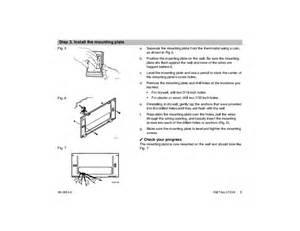 Honeywell Programmable Thermostat Installation Instructions