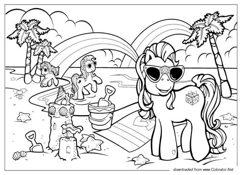 pony friendship  magic coloratornet