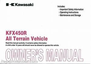 2009 Kawasaki Kx450f 4 Stroke Kx45e9f Models Service Repair Manual
