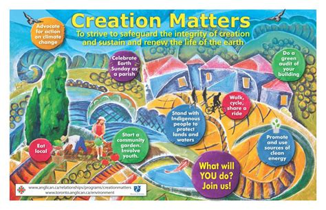 creation care  diocese  toronto