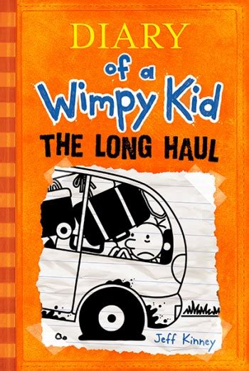 jeff kinney diary   wimpy kid  long haul author book signing
