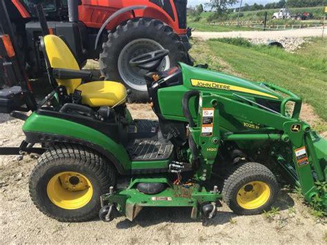 Deere 1025r Mower Deck Leveling by Deere 1025r For Sale Wisconsin Price 13 500