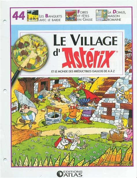 le bureau ales astérix collection atlas le gaulois para bd