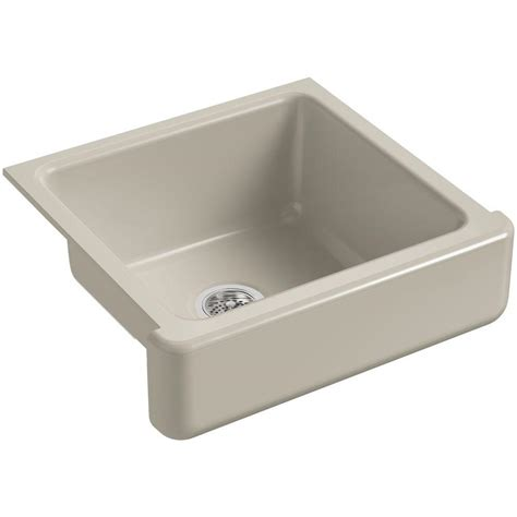 kohler retrofit apron sink kohler whitehaven farmhouse apron front cast iron 24