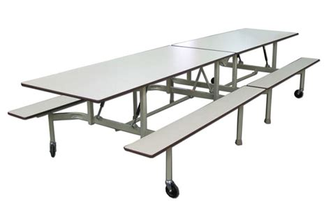 Table Pliante Avec Bancs B12  Alpha Tabco Inc