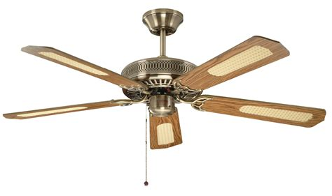 classic ceiling fans with lights fantasia classic 52 antique brass ceiling fan 110224