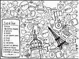 Coloring Menu Restaurant Restaurants Xo Lp Together Offices Events sketch template