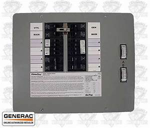 Generac 6380 Powerstay Generator Transfer Switch 50 Amp 12