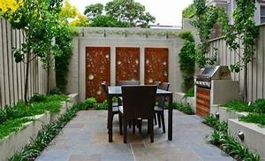Humidité Mur Extérieur : d co mur ext rieur jardin 51 belles id es essayer ~ Premium-room.com Idées de Décoration