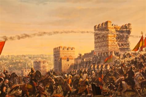 the siege of constantinople geriatric gapper walking the walls of constantinople