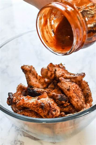 Wings Chicken Grilled Barbecue Smoky Habanero Bbq