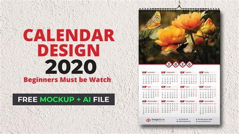 calendar design  wall calendar      calendar  illustrator tutorial mh