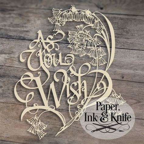 paper cutting templates as you wish 1 papercut template paper ink and knife