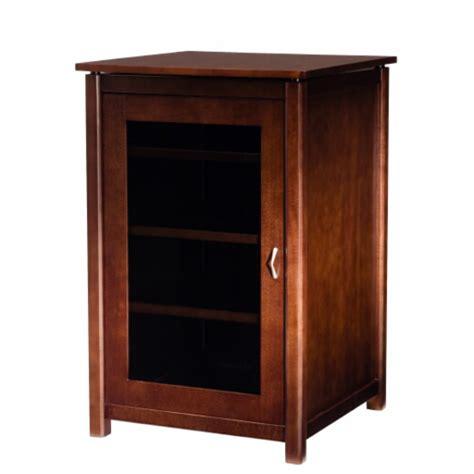 audio component cabinet components five shelf audio cabinet in mocha