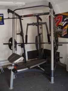 weider club  weight machine waterloo  sale