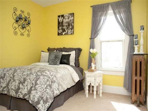 18 vibrant yellow and gray bedroom ideas