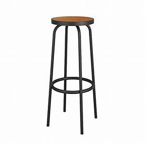 Chaise Fer Forgé Et Bois : haizhen chaises canap s tabourets chaise de bar en fer ~ Dailycaller-alerts.com Idées de Décoration