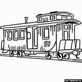 Coloring Pages Trolley sketch template
