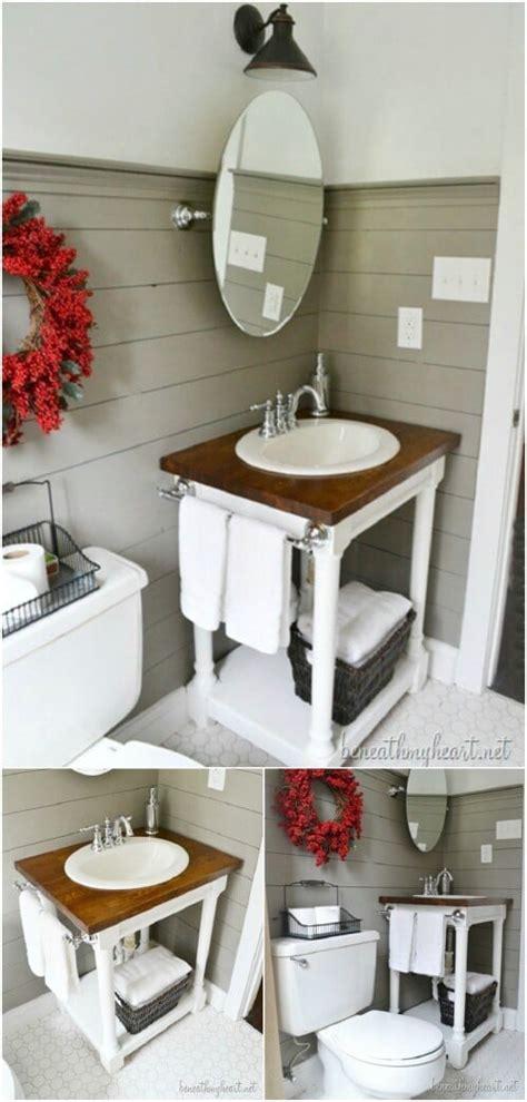 gorgeous diy bathroom vanities  beautify  beauty