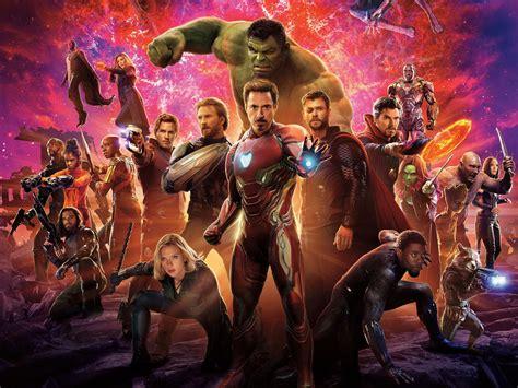 fonds decran avengers  infinity war film de marvel