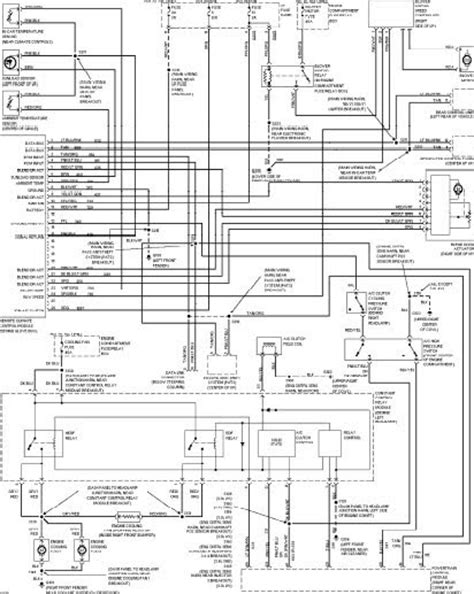 Car Wiring Diagrams Ford Taurus