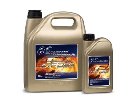 Over the years, there have been a confusing array of different atf types and specifications. Accelerate ATF DSG - accelerate lubricants