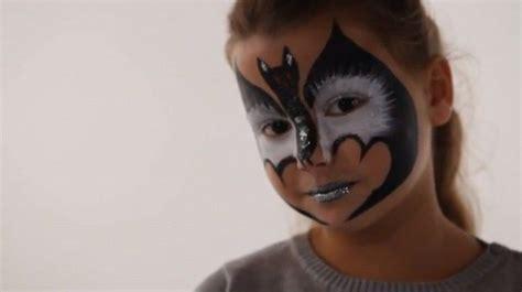 maquillage chauve souris tutoriel maquillage enfant facile jeux