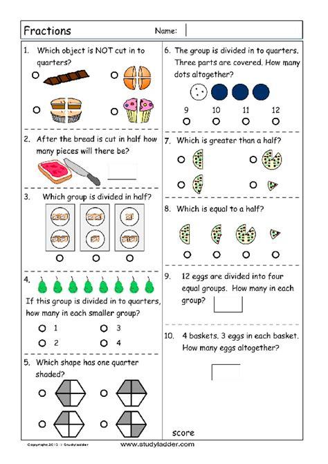 fractions problem solving studyladder interactive