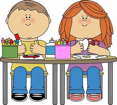 Classroom Clipart Preschool Clip Teacher Nurse Office