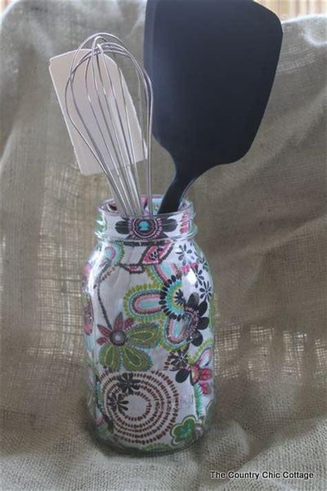 decorating jars with fabric decorating jars five ways with plaidcrafts walmartplaid