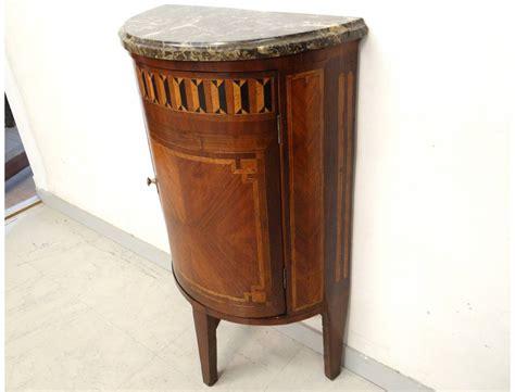 canapé demi lune petit meuble louis xvi demi lune marqueterie bois