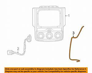 New Oem Mopar Rear Backup Camera Jumper Wiring Harness
