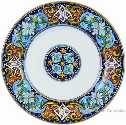 Plate Italian Dinner Ceramic Vario Ricco Ceramics