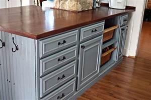 Wood Kitchen Countertops Wood Countertops DIY