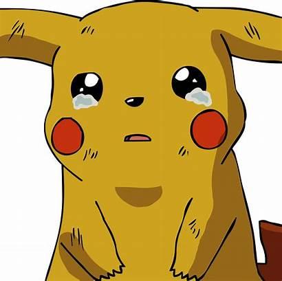Pikachu Crying Sad Transparent Cartoons Cartoon Cry