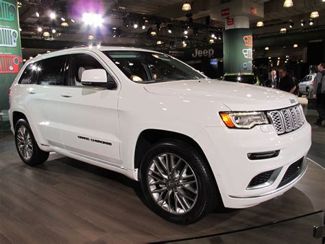 jeep grand cherokee summit revealed