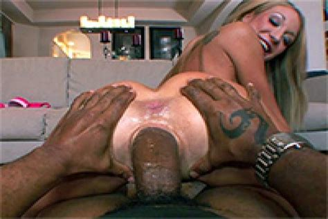 Massive Black Cock Stretched Her Pussy To The Limits