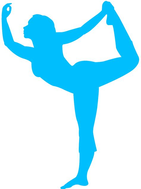 If you wish to use our. Standing Half Bow Yoga Pose Silhouette   Free vector ...