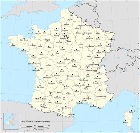 Carte Département Ville by Villes De Arts Et Voyages