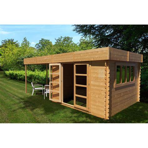 abris cuisine cing abri de jardin à toit plat 9m pergola 9m en bois