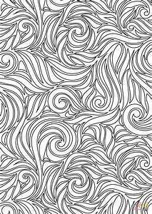 Swirl Pattern coloring page | Free Printable Coloring Pages