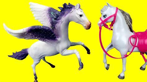 horses unicorn horse flying wings sky playing