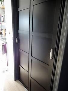 Porte Interieur Grise : un nouveau style pour mes portes de placard home by marie ~ Mglfilm.com Idées de Décoration
