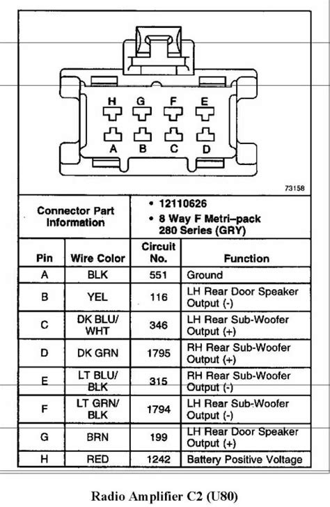 2000 ssei bose wiring diagram gm buick cadillac olds gmc pontiac chat